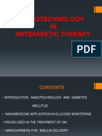 NANOTECHNOLOGY  IN  ANTIDIABETIC THERAPY.pptx