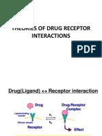 Theories of Drug -Receptor Interaction