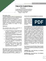 Nutricion parenteral - bromatología