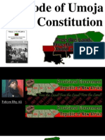 the Code of Umoja Black Constitution