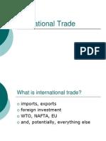 6. WTO Frame Work and International Marketing