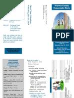 2009 Golf Scramble Brochure