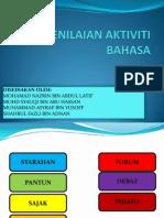 Penilaian Aktiviti Bahasa