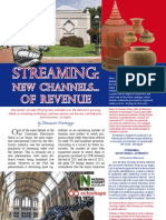 New revenues from streaming