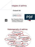 Phenotypes of Asthma Elisabeth