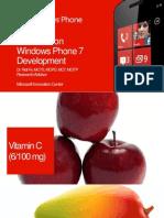 7 Reason in WP7 Development