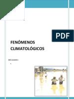 FENOMENOS CLIMATOLOGICOS