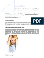 11 Hal Yang Sering Menjadi Penyebab Stress