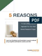 Flow Monitor Inc, 5 Reasons