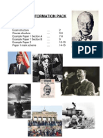 48659244 IGCSE History Information Pack