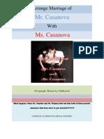 Arrange Mariage of Mr. Casanova with Ms. Casanova by ChiHoon16