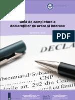 Ghid de Completare a Declaratiilor de Avere (1)