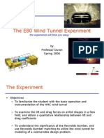 Lectures on Wind Tunnel