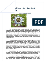 Floriculture in Ancient India