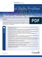 Food and Beverage Notes