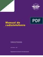 Manual radiotelefonía OACI doc 9432