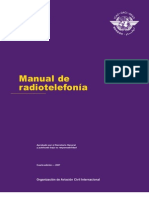Manual radiotelefonía OACI doc 9432