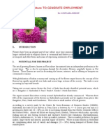 Floriculture to Generate Employment