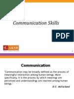 Communication Skills & Relationship Building