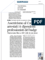 Rassegna Stampa 20.07.2013
