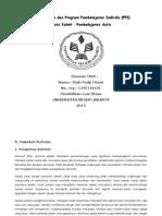 Hasil Asesmen Dan Program Pembelajaran Individu AUTISME