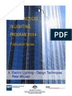 4 Electric Lighting Design Techniques