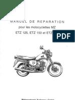 ETZ Manuel d'Atelier Etz 125 ET 251