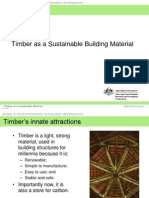3 Timber as a Sustainable Material