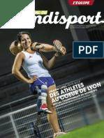 Journal du Handisport - Supplément L'équipe - Marie Bochet