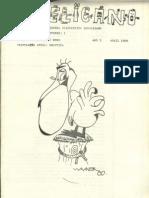O PELICANO, número 1 de 1980
