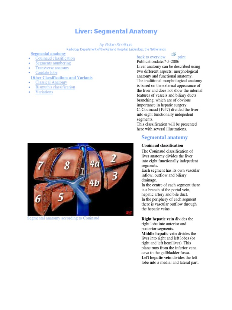 Liver Anatomy | Liver | Animal Anatomy