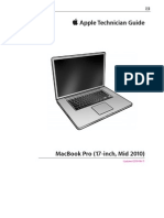 Manual del macbookpro 17""