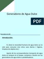 Generadores de Agua Dulce