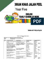 Yearly Scheme of Work Year 5 2013