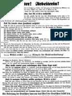 Flugblatt 1930 Nr. 32 Wahlenthaltung, Ludendorffs Volkswarte