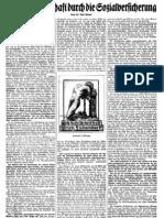 1931 Nr. 6, Flugblatt, Sozialversicherung, Ludendorffs Volkswarte,