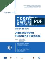 Curs Administrator Pensiune Turistica