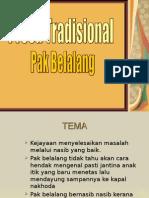 Pak Belalang presentation