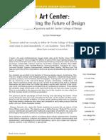 Art Center, Incubating the Future of Design