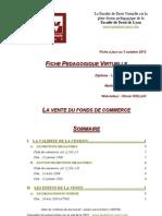 Vente Du Fonds de Commerce Droitdesaffaires Sem3