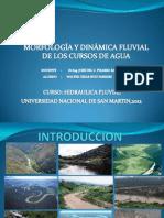 Morfologia y Dinamica Fluvial de Los Cursos de Agua