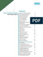 Minda Annual Report