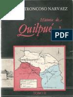 HISTORIA de QUILPUE, TOMO 2, Roberto Troncoso Narvaez, 1986