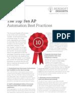 Top AP Automation Practices