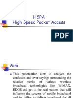 HSPA High Speed Packet Access