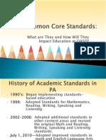 Common Core OASD Board Presentation 7.15.13
