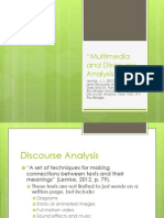multimedia discourse analysis by lemke
