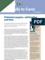 Fishmeal Cargoes Self Heating