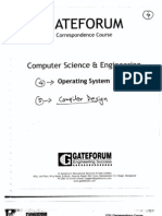 Gate Forum 09 CSE Operating System Practice Set