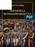 Javier Garciadiego - Textos de la Revolución Mexicana